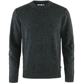 Fjällräven Övik Round-neck Sweater Men dark grey